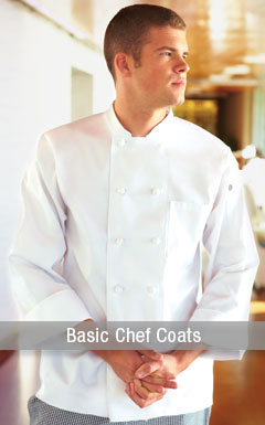 Essential Chef Coats & Chef Jackets