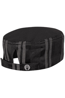 Presidio Cool Vent™ Beanie: Black/Gray - side view