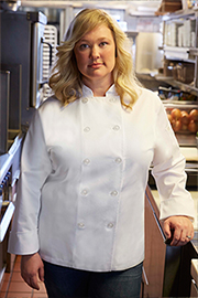 Le Mans Womens Chef Coat