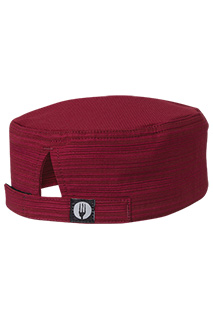Harlem Cool Vent™  Beanie: Red - side view