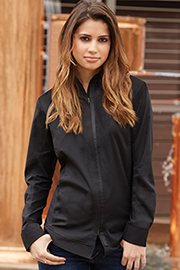 Shelby Womens Zip-Front Shirt