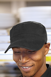 Military Cap - side view