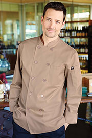 Cyprus Khaki Chef Coat