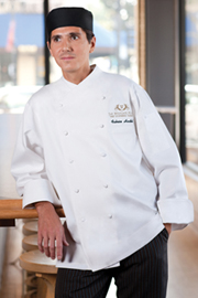 Milan Premium Cotton Chef Coat