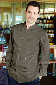 Perugia Olive Chef Coat