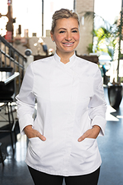 Marrakesh V-series Womens Chef Coat