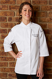 Verona V-series Womens Chef Coat