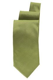 Lime Satin Finish Tie