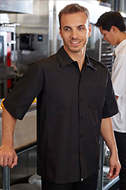 Cool Vent™ Cook Shirt: Black